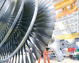 Dampfturbinentechnologie Dampfturbine