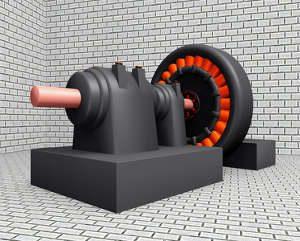 Gleichstromgeneratoren Stromgenerator