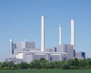 Heizkraftwerk Kraftwärmekopplung